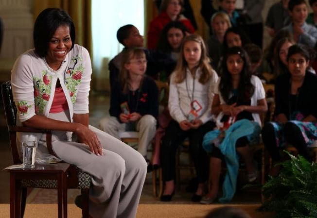 Bay Area Students Meet with FLOTUS