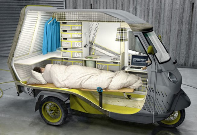 """Bufalino"" Concept Car, an Apartment on Wheels"