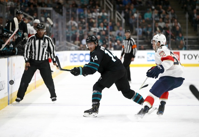 Sharks' Win Streak Snapped at 6 in Loss to Panthers - NBC