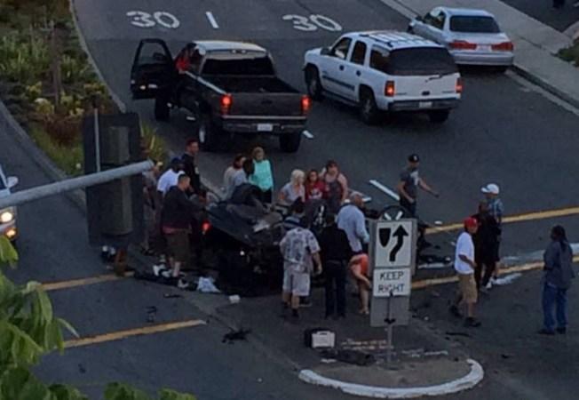 Driver Arrested, Passenger Injured in Rollover Crash Off I-80 in