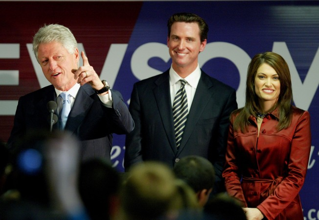 Newsom Schedules His Date With President Clinton