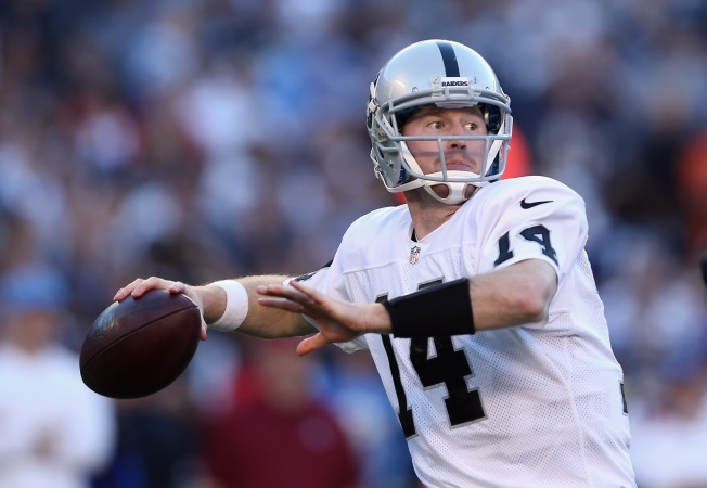McGloin Taking Advantage of Opportunities