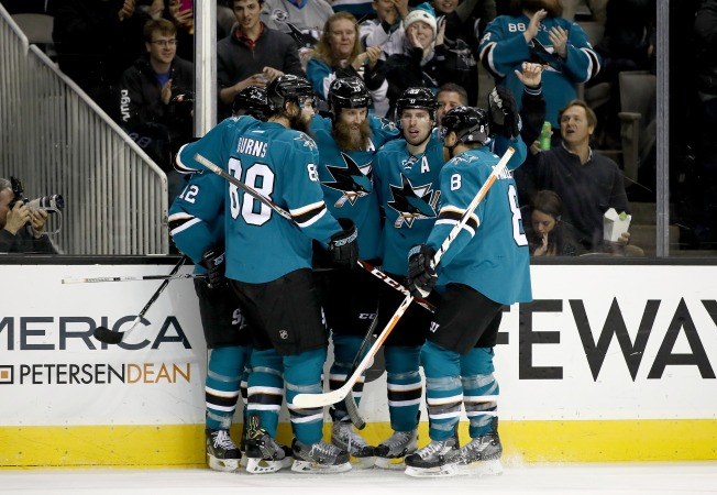 Sharks Make Most of Opportunities in Win Over 'Canes