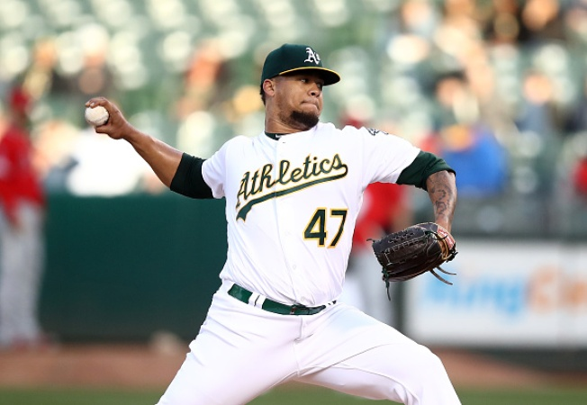 A's Win Streak Ends at 10 With Loss to Angels