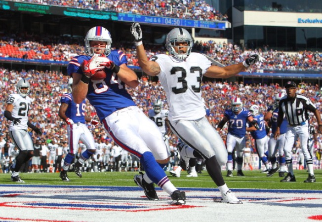 Raiders Swept Away in Buffalo
