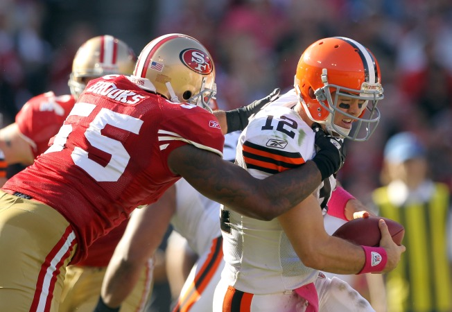Niners Go Big to Beat Browns