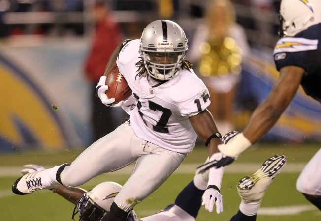Raiders' Denarius Moore Touted as Future Star in NFL