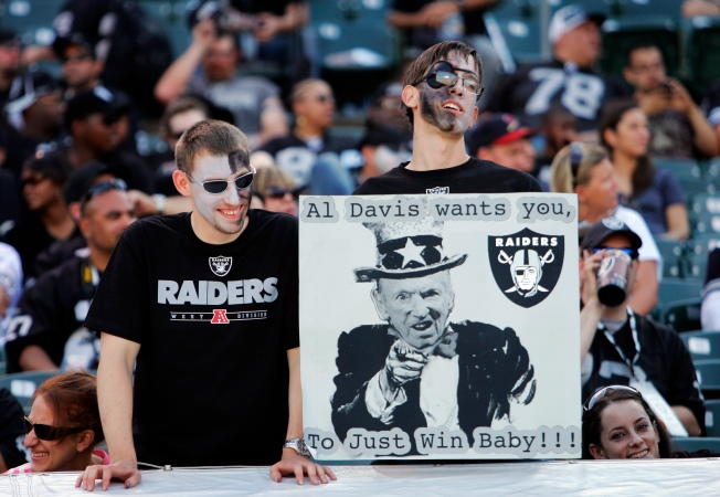 Raiders Hoping for a Boost From Fans Sunday