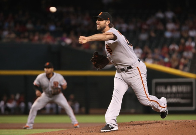 Giants Fall Behind Early, Lose to Diamondbacks
