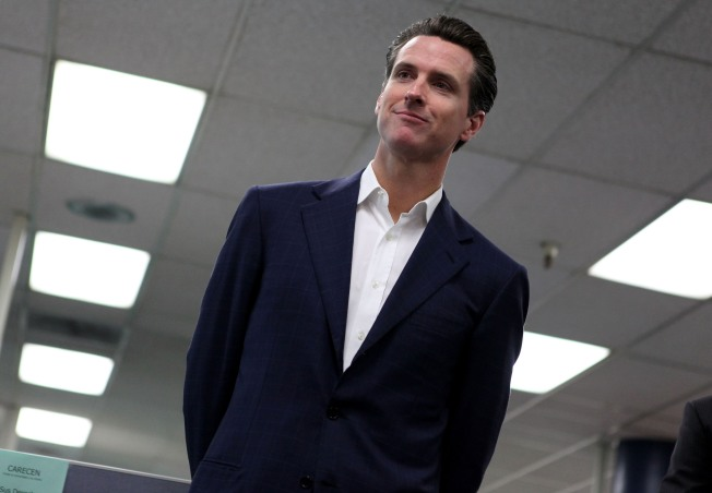 Newsom Gladly Talks Trash