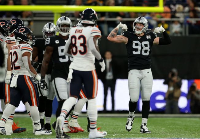 Raiders' Maxx Crosby Is Playing a Larger Role on Defense
