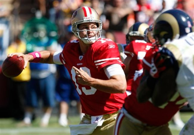 Niners Batter Rams in Blowout Win