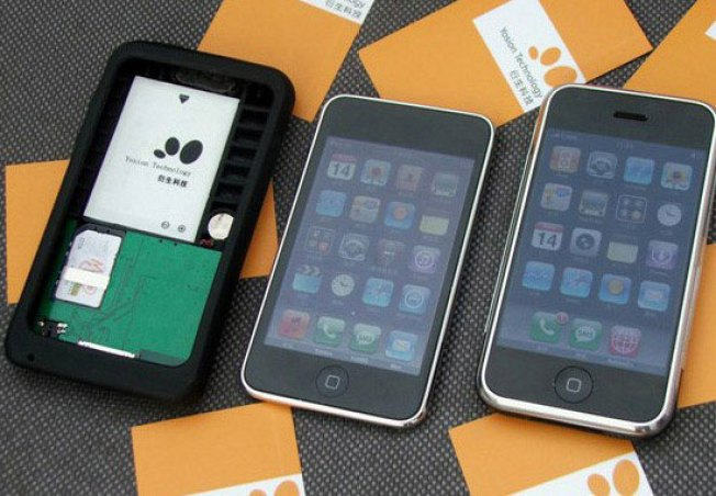 iPod Touch Takes Over Sprint With 3G Add-on Case