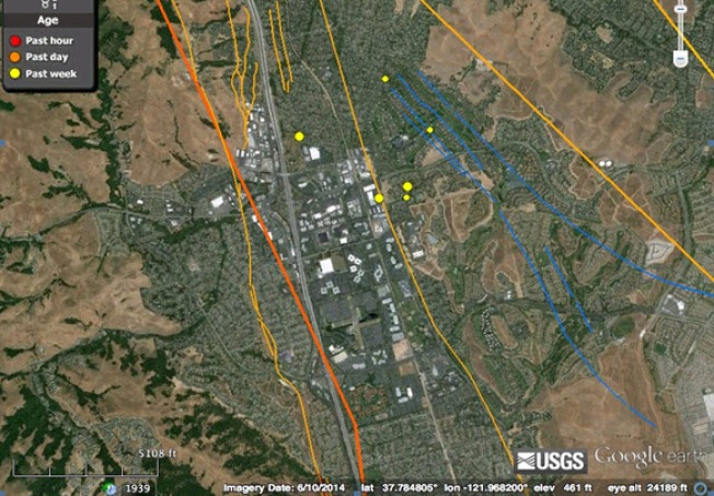 San Ramon Earthquake Swarm Tops 600, Activity Has Now 'Died Off:' USGS