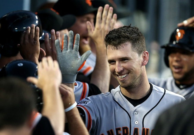 San Francisco Giants' Buster Posey Named All-Star Starter