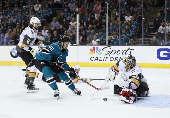 Sharks Blanked by Vegas in Game 6, Eliminated From Stanley Cup Playoffs