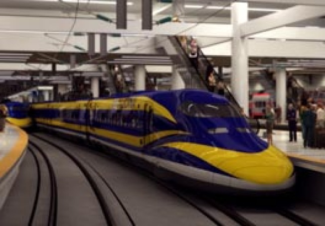 Stimulus Could GIve Calif. High-Speed Rail