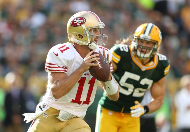 Niners Use Familiar Formula to Beat Packers in 2012 Opener