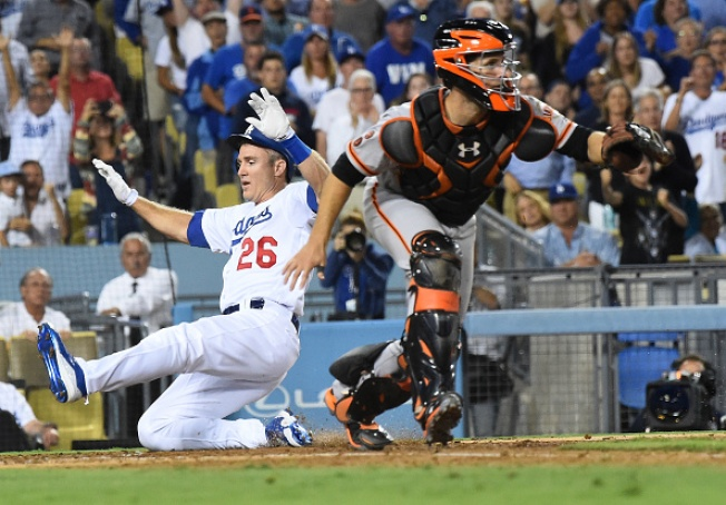 Giants Drop Series Opener Against Rival Dodgers