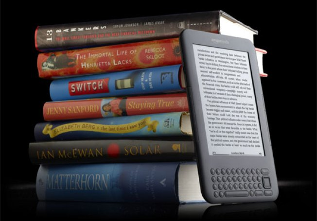 Kindle to Begin Renting Textbooks