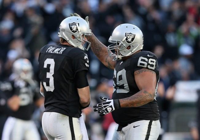 Raiders' Draft of Watson Leaves Barnes' Status in Doubt