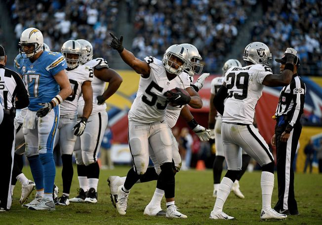 Seven Raiders selected to 2017 Pro Bowl
