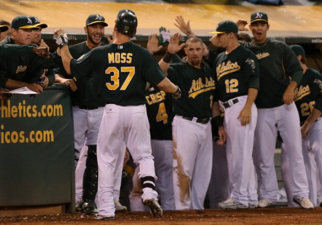 A's Clinch Playoff Spot