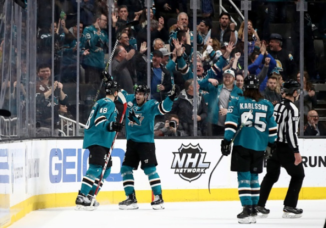 Sharks Extend Win Streak to 7 With Win Over Penguins