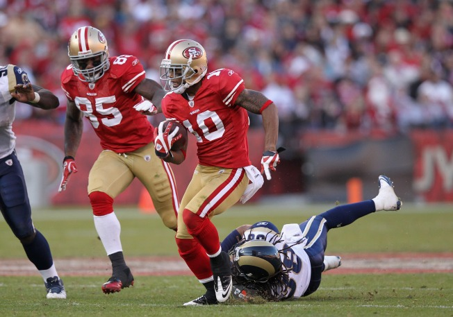 Niners'  Kyle Williams Ready, Eager to Return Punts