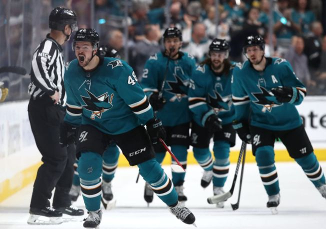 Sharks Begin Second Round of NHL Playoffs Against Colorado