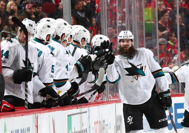Burns Nets Two, Sharks Put an End to Losing Streak