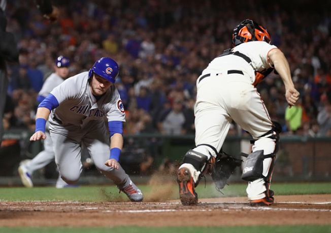Giants Manage Just Three Hits in Shutout Loss to Cubs