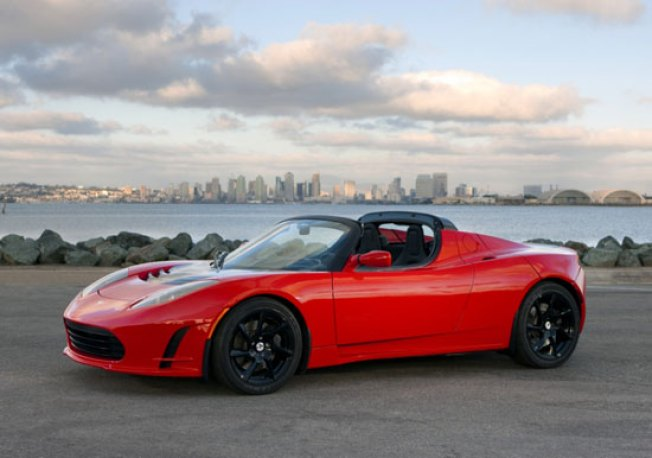 Photos of Tesla's New(-ish) Electric Roadster