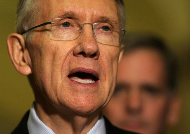 Reid: GOP 'run by a talk show host'