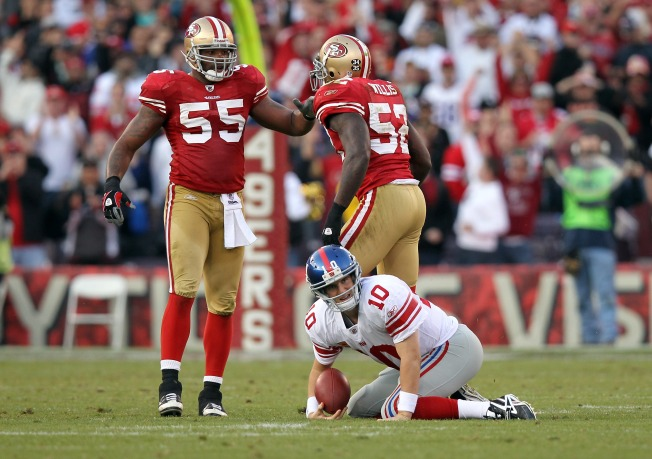 Ahmad Brooks Happy to Stay With 49ers