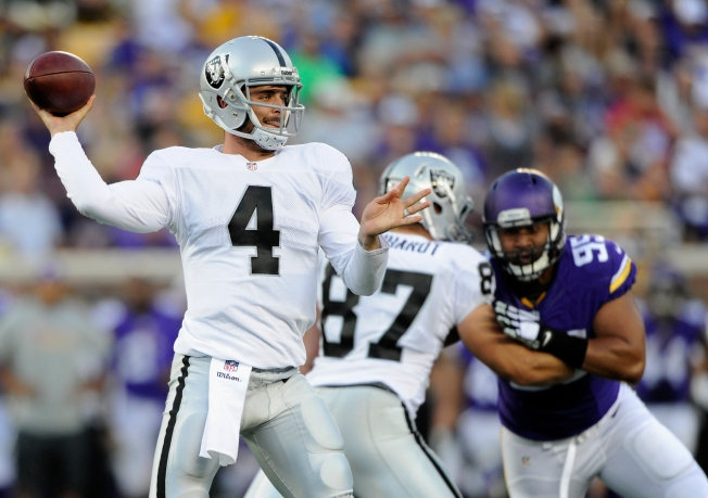 Raiders Open Flat, But Moore Shows Some Spark