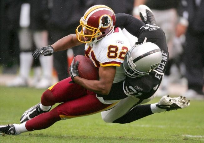 Raiders Run Over by Redskins