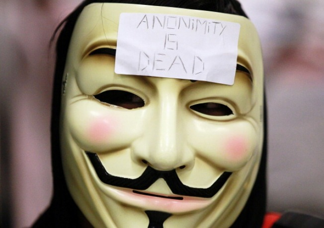 Anonymous Promises Protests Until Demands Met