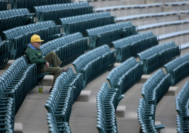 Empty Seats Turn Up to See Redwoods Win Home Opener