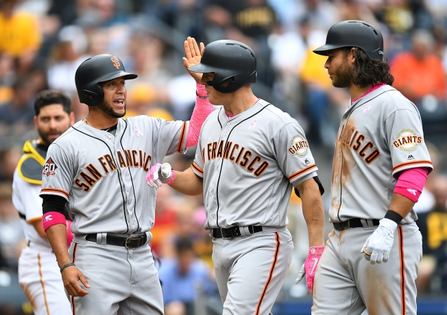 Behind Holland and Two Home Runs, Giants Snap Six-Game Losing Streak