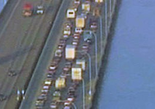 SigAlert Canceled on San Mateo Bridge After Crash Cleared
