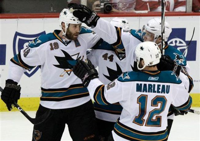 Sharks Take 3-Zip Lead After OT Thriller
