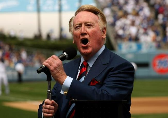 Vin Scully Celebrates 60 Years in Dodger Blue