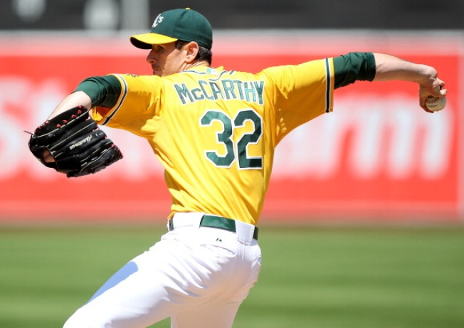 A's Pitcher Brandon McCarthy Tweets Against Homophobia