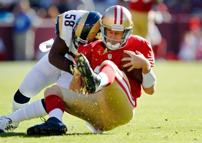 Wild 49ers-Rams Game Ends in Tie