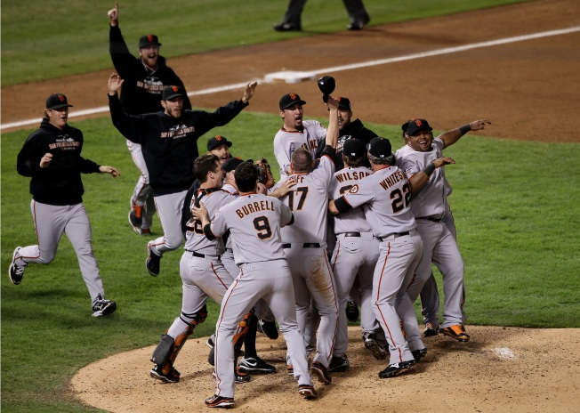 Giants Get Their World Series Bonus