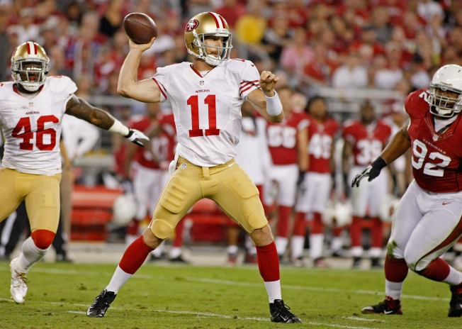 Even After Smith's Near-Perfect Game, 49ers QB is Knocked