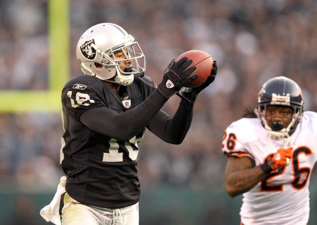 Emergence of Young Raiders WRs May Put Murphy on Bubble
