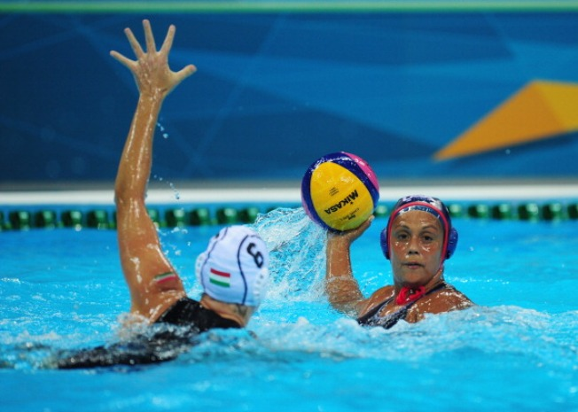 U.S. Women's Water Polo Beats Hungary