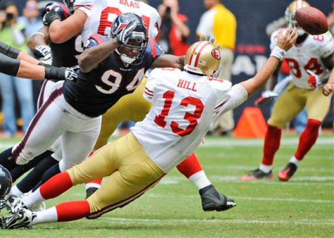 49ers QB Swap Results in Rally, But Loss